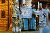 Патриаршая проповедь в праздник Сретения Господня после Литургии в Храме Христа Спасителя