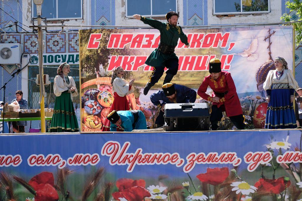Пасхальный фестиваль в селе Икряное